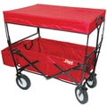 On The Edge Marketing 24'' Folding Utility Wagon; Red