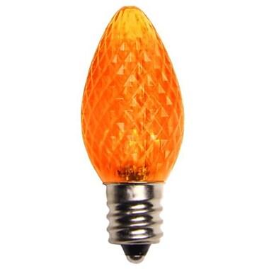 Queens of Christmas LED Light Bulb (Pack of 25); Orange