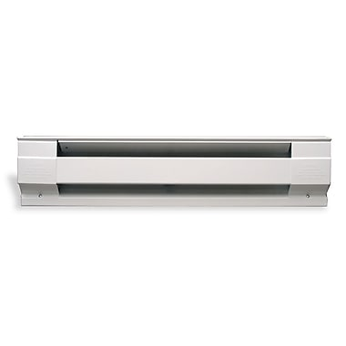 Cadet 500 Watt Wall Mounted Electric Convection Baseboard Heater; White