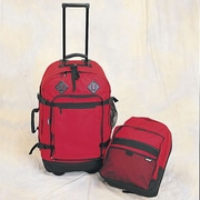 Preferred Nation Outdoor Gear 24.5'' Wheels Travel Pack; Red
