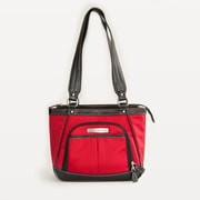Clark & Mayfield Sellwood Metro Mini Tablet Tote Bag; Red