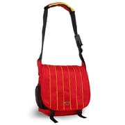 J World Messenger Bag; Yellow/Red