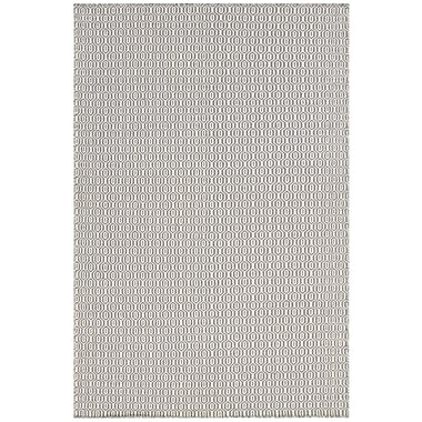 Chandra Diva Gray Area Rug; 7'9'' x 10'6''