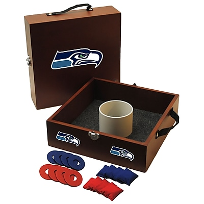 Tailgate Toss NFL Washer Toss Game Set; Seattle Seahawks WYF078275798291