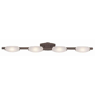 Access Lighting Nido 4 Light Vanity Light; Oil Rubbed Bronze