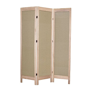 Screen Gems 67'' x 48'' Casablanca 3 Panel Room Divider