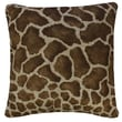 Karin Maki Giraffe Synthetic Square Pillow