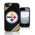 Forever Collectibles NFL Soft iPhone Case; Pittsburgh Steelers - Black