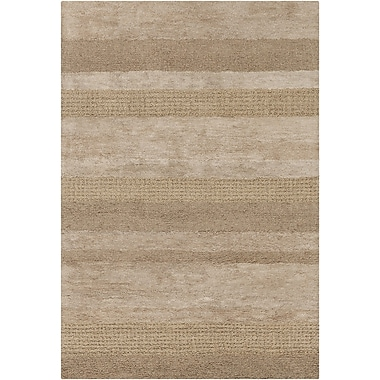 Chandra Harber Brown Area Rug; 5' x 7'6''