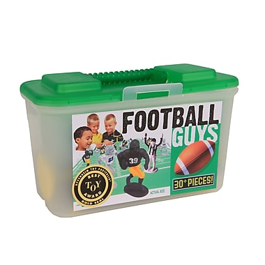 Kaskey Kids Football Board Game with Black and Gold Guy (Set of 30)