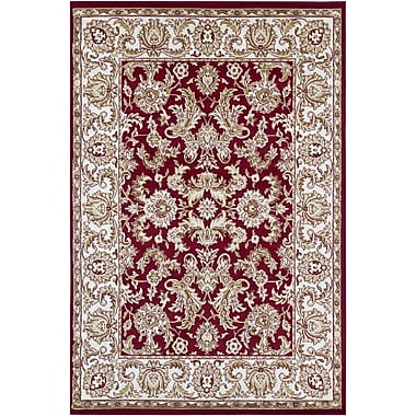 Chandra Taj Red Area Rug; 2'8'' x 4'7''