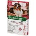 Advantage Flea Treatment for Dogs 21-55 lbs (4 Pack)