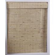 Top Blinds Arlo Blinds Bamboo Roman Shade; 36'' W x 54'' L
