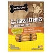 Three Dog Bakery Classic Cremes Peanut Butter Golden Cookies Dog Treat