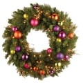 National Tree Co. Pre-Lit 30'' Kaleidoscope Wreath