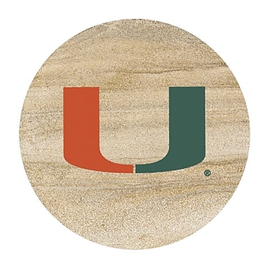 Thirstystone University of Miami Collegiate Coaster (Set of 4)