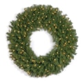 National Tree Co. Norwood Fir 30'' Pre-Lit Wreath; Clear Lights