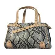 Backbone Pet Snake Skin Handbag Pet Carrier
