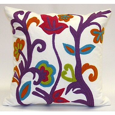 Sabira Spring Garden Throw Pillow