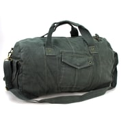 Vagabond Traveler Travel Duffel Bag; Blue Grey