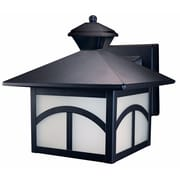 Heath-Zenith Modern Bungalow 1 Light Outdoor Wall Lighting