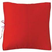 Koko Company Euro Sham; Red / Fuchsia