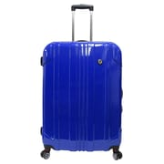 Traveler's Choice Sedona 29'' Expandable Spinner Suitcase; Blue