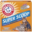 ARM & HAMMER Super Scoop Clumping Unscented Litter 20 Pound