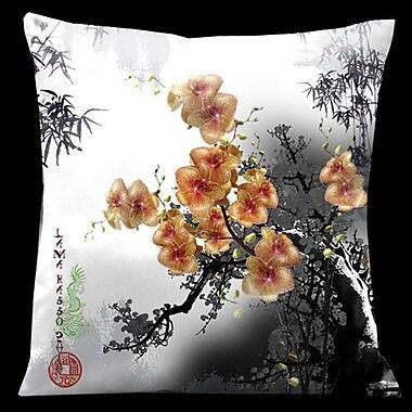 Lama Kasso Exotic Asia Throw Pillow