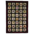 Homespice Decor Penny Star Patch Novelty Rug; 2.5' x 9'