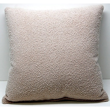 Dakotah Pillow Mammoth Knife Edge Throw Pillow; Oyster