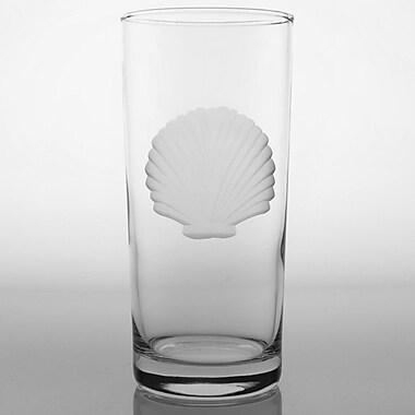 Rolf Glass Seashell Cooler Glass (Set of 4)