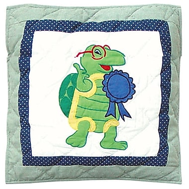 Patch Magic Cotton Throw Pillow