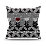 KESS InHouse Unique Throw Pillow; 26'' H x 26'' W