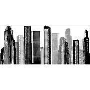 Room Mates Cityscape Giant Wall Decal