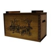 Evans Sports Standard Storage Box With Winter Deer Print