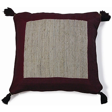 New Spec Nature Aroma Cotton Throw Pillow; Red