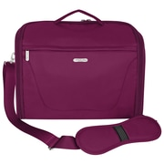 Travelon Messenger Bag; Berry