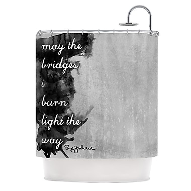 KESS InHouse Bridges Shower Curtain