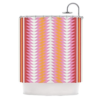KESS InHouse Bomb Pop Shower Curtain
