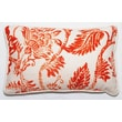 Corona Decor Bali Pillow; Orange Bright