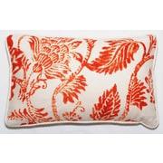 Corona Decor Bal Lumbar Pillow; Orange Bright
