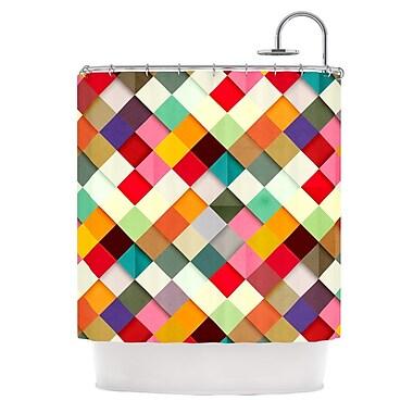 KESS InHouse Pass This On Shower Curtain