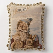 Corona Decor Holiday Whimsy Noel Lumbar Pillow