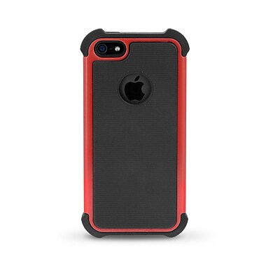 iessentials iPhone 5 Dual Layer Case; Red