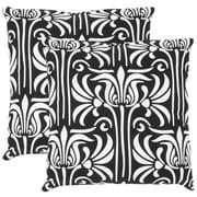 Safavieh Damia Cotton Decorative Cotton Throw Pillow (Set of 2); 18''