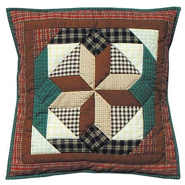 Patch Magic Giftwrap Cotton Throw Pillow