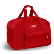 J World Buena 19.5'' Folding Carry-On Duffel; Red