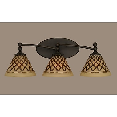 Toltec Lighting Capri 3-Light Vanity Light
