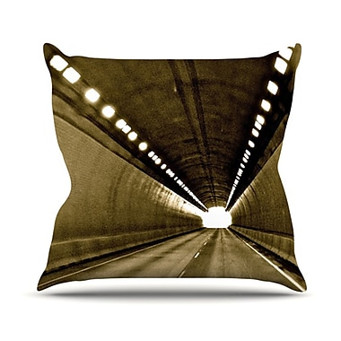 KESS InHouse Tunnel Throw Pillow; 18'' H x 18'' W